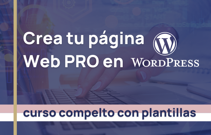 curso pagina web pro wordpress