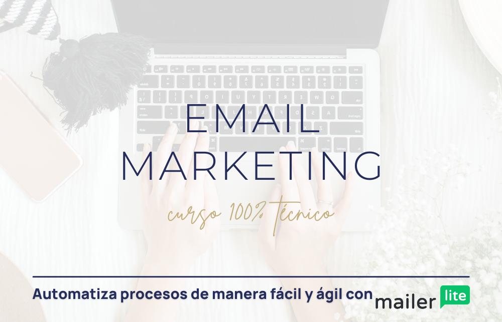 email marketing curso mailerlite
